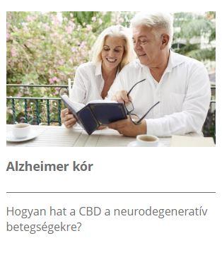 CBD és az Alzheimer kór