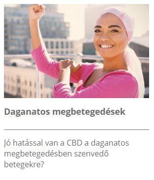 CBD és a daganatos betegségek
